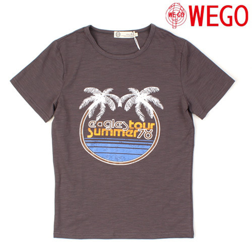 [WEGO] Tour Summer 78 S/S Tee 프린트티