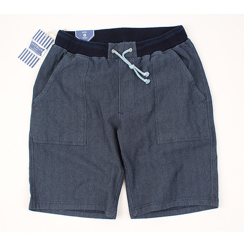 [HANJIRO japan] OLDBLUE Back-pocket herringbone Shorts