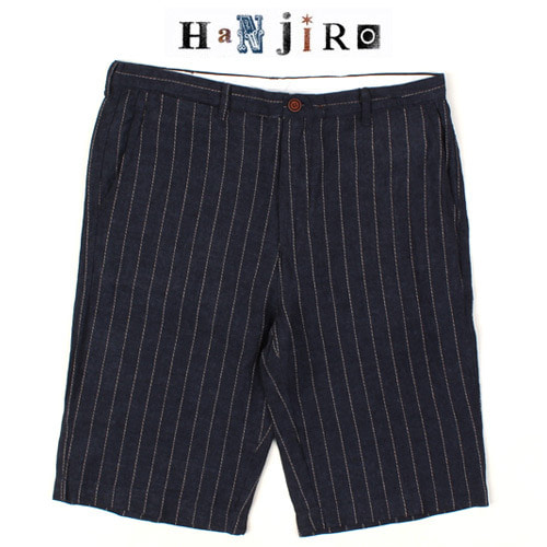 [HANJIRO Japan] LINEN STRIPE SHORTS