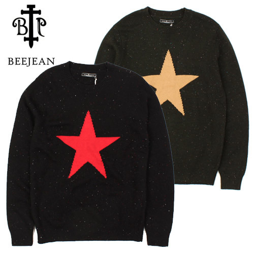 [BEEJEAN] STAR KNIT SWEATER 별니트