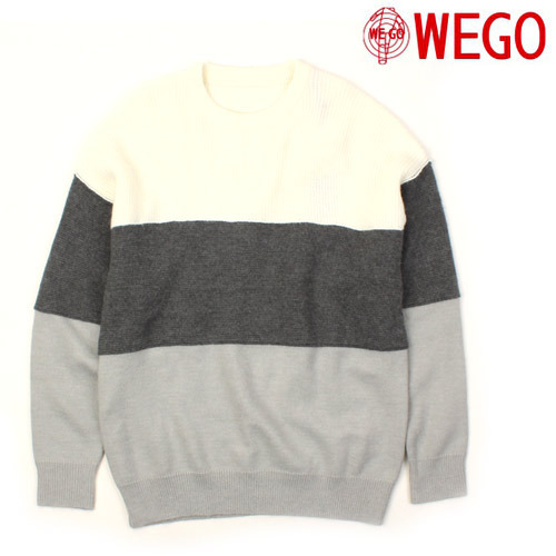 [WEGO] 3 Color Knit