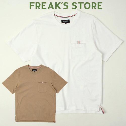 [FREAK'S STORE] ACQUIRED Line Pocket S/S Tee 포켓라인티
