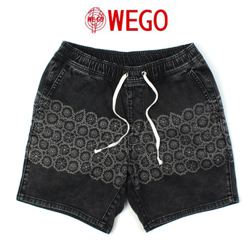 [WEGO] Ethnic Denim Shorts 에쓰닉반바지