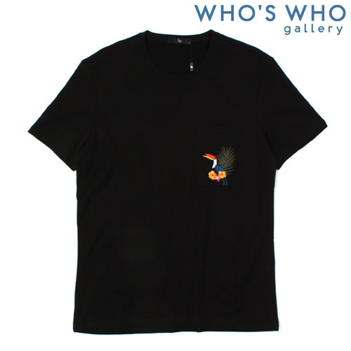 [WHO'S WHO] Tropical Pocket S/S Tee 트로피칼포켓티
