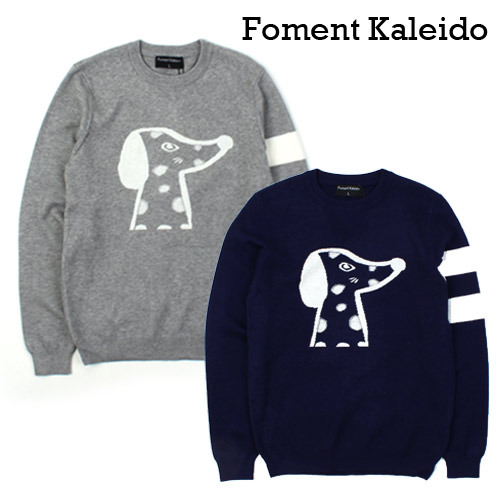 [Foment Kaleido] Dog Wool Knit 도그울니트