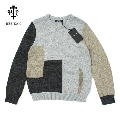 [BEEJEAN] Color combination Knit  3컬러니트