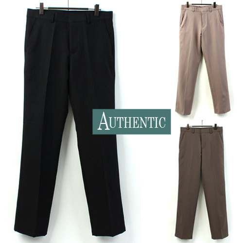 [AUTHENTIC] Semi Wide Slacks 세미와이드슬랙스
