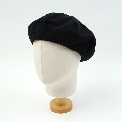 [UNIVERSAL CHEMISTRY] Washing Cotton Black Beret 유니버셜케미스트리 베레모