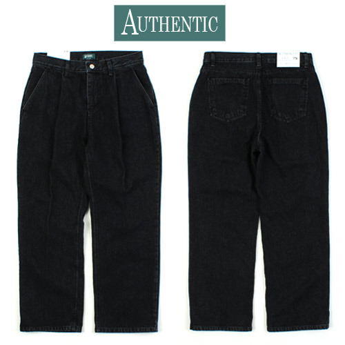 [AUTHENTIC] Wide Black Denim 와이드데님