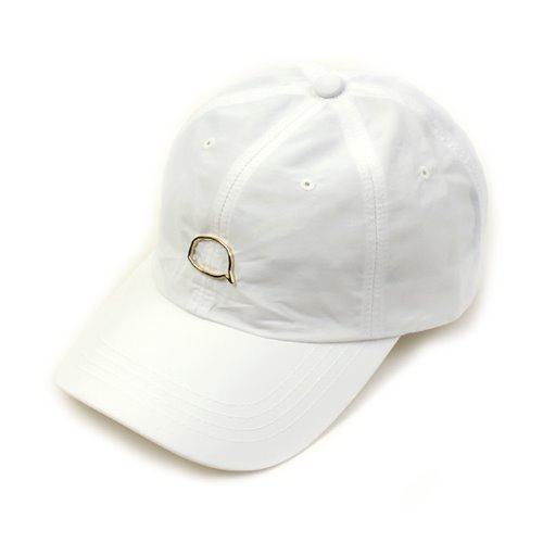 [UNIVERSAL CHEMISTRY] Cool Bubble White Ballcap(GOLD/BLACK) 유니버셜케미스트리