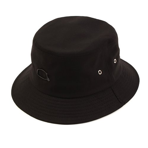 [UNIVERSAL CHEMISTRY] Bubble Black Short Bucket Hat 유니버셜케미스트리