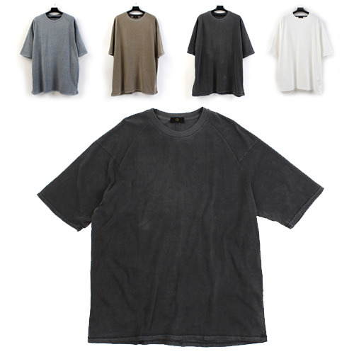 [MIDWEST] Sandwashing Overfit Tee 워싱오버핏티