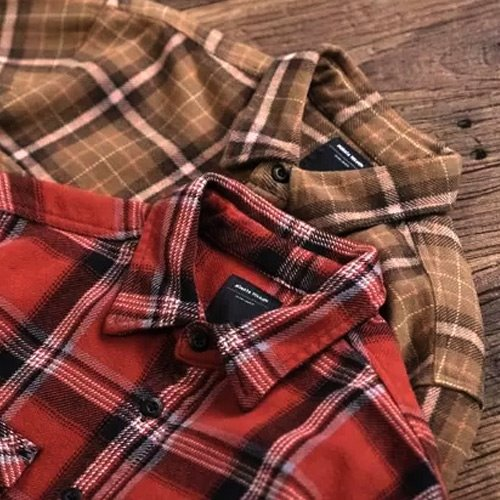 [MORATA TOLKIEN] Heavy Cotton Check Shirts Jacket 체크셔츠자켓