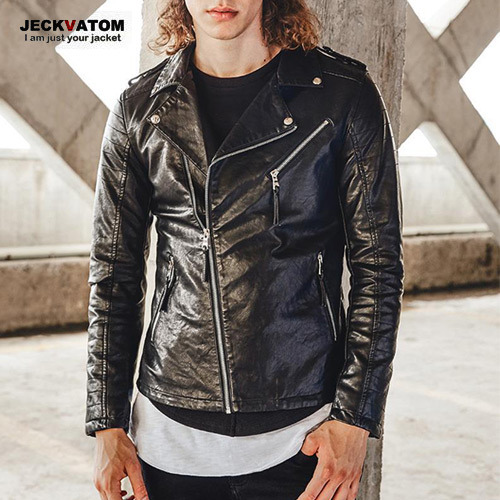 [JECKVATOM] Leather Rider Jacket 라이더자켓