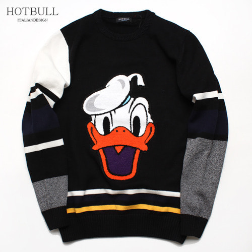 SALE [HOTBULL] Donald character Knit