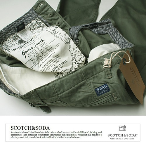 [Scotch&Soda] KH Chino Pants 벨트랩 치노팬츠