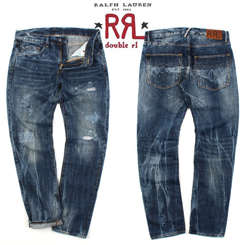 [Ralph Lauren Double RL] Vintage Redtap Denim 빈티지데님