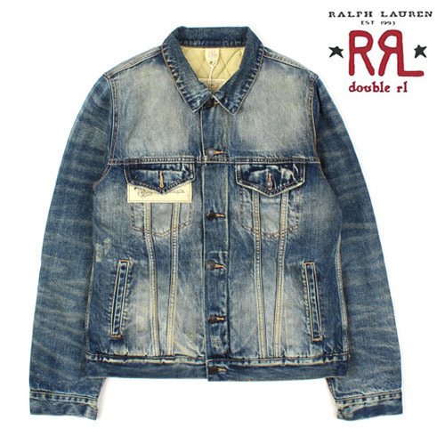[Ralph Lauren Double RL] Nubim Denim Jacket 안감누빔청자켓