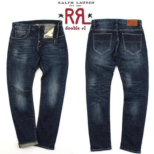 [Ralph Lauren Double RL] BASIC SLIM DENIM 베이직데님