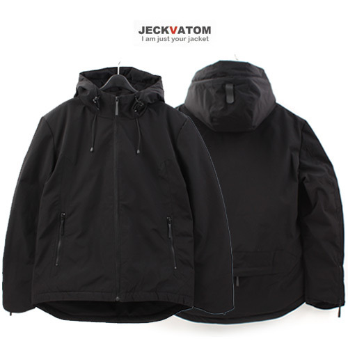 [JECKVATOM] Duck Down Hood Padding 다운후드패딩점퍼