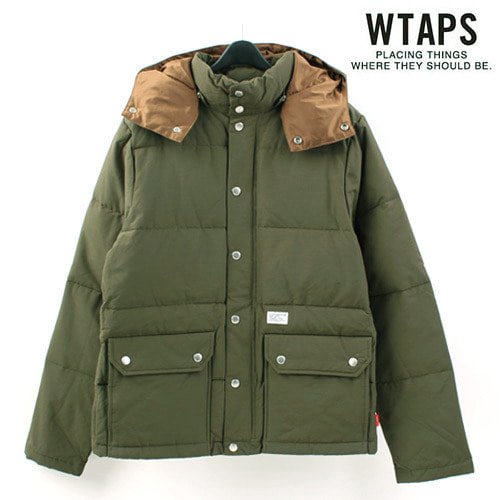 [WTAPS/STOCK] Hood Down Padding 후드다운패딩