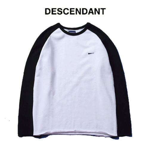 [DESCENDANT] Naglan Edgecut Long Tee 나그랑롱티