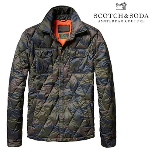 [Scotch&Soda]Nylon Camo Jacket 나일론카모자켓
