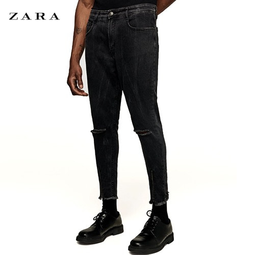 [ZARA] BK JEANS WITH ZIP