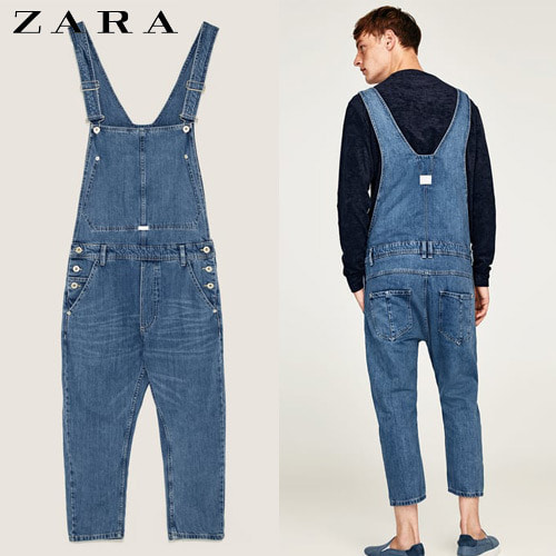 [ZARA MAN] Roll-Up Denim