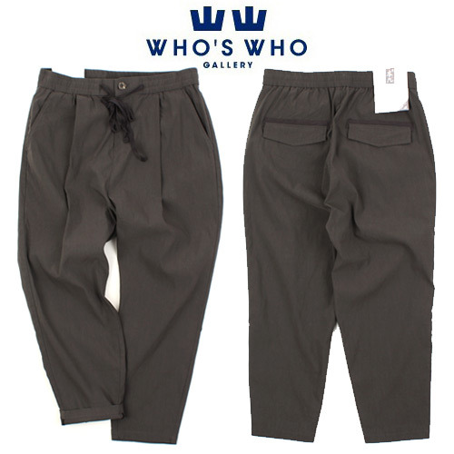 [WHO'S WHO] BENG 10/9 Bending Pants 후즈후 9부밴딩팬츠