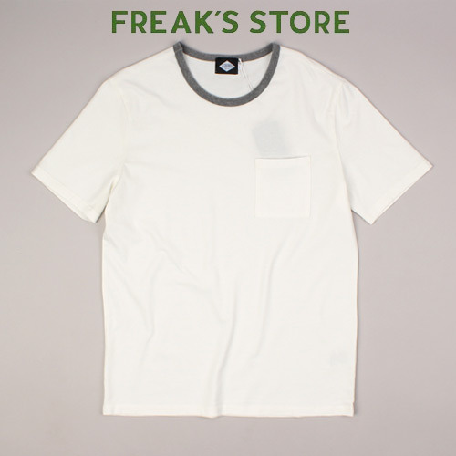 [FREAK'S STORE] ACQUIRED White Pocket Tee