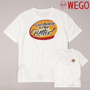 [WEGO] Easton Better S/S Tee 프린트티