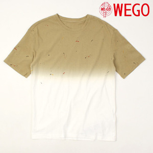 [WEGO] Easton Gradation Paint Tee 그라데이션티
