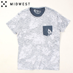 [MIDWEST] CTV FLOWER POCKET TEE