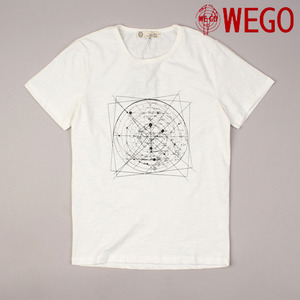 [WEGO] ORION MAP S/S Tee 프린트티