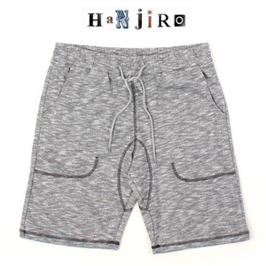 [HANJIRO Japan] GRAY BENDING SHORTS