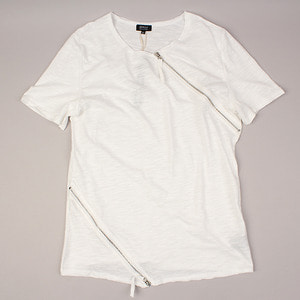 [NO.44] Diagonal ZIP T-shirts 사선지퍼티셔츠