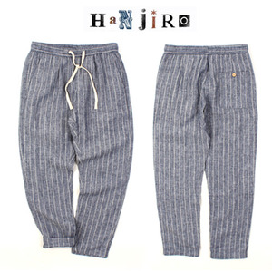 [HANJIRO japan] Stripe Linen Banding Pants  스트라이프마바지