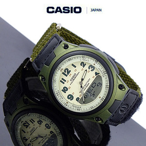 [CASIO JAPAN] CHIP MILI WATCH KHAKI