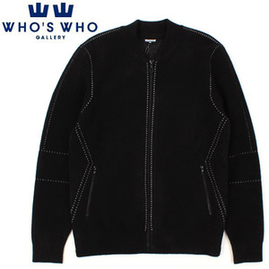 [WHO'S WHO] Stitch Zip Cardigan 스티치지퍼가디건