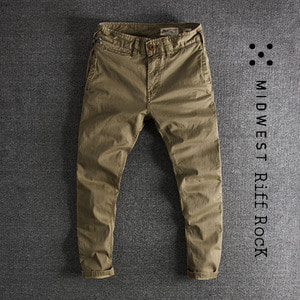 [MIDWEST] RIFF ROCK WASHING PANTS