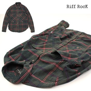 [MIDWEST]Riff RocK GREEN chek NB 포켓체크셔츠