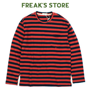 [FREAK'S STORE] PAELEE Stripe Long Tee