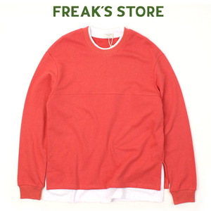 [FREAK'S STORE] PAELEE Pink Layered MTM 레이어드맨투맨