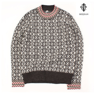 [BEEJEAN] NECK POINT SWEATERS