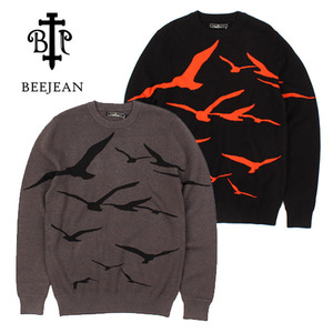 [BEEJEAN] BIRD KNIT SWEATER 버드니트