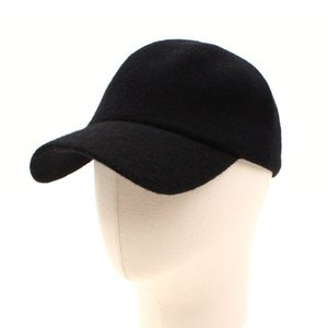 [UNIVERSAL CHEMISTRY] Wool Black Simple Ballcap 유니버셜케미스트리 울볼캡