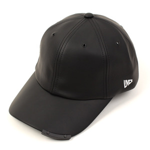 [UNIVERSAL CHEMISTRY] Leather Iron Bar Ballcap 유니버셜케미스트리 가죽볼캡