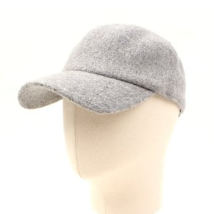 [UNIVERSAL CHEMISTRY] Wool Gray Simple Ballcap 유니버셜케미스트리 울볼캡