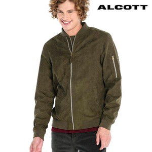 [ALCOTT] BOMBER IN FAKE SUEDE  봄버스웨이드자켓
